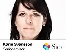 Karin Svensson SIDA